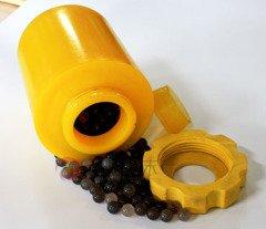 滚筒磨罐 聚氨酯球磨罐的图片