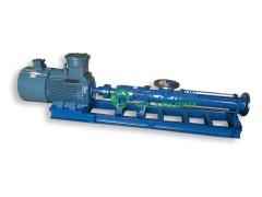 螺杆泵:G型不锈钢防爆变频单螺杆泵的图片