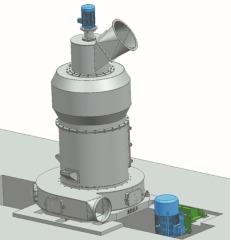 YF158纵摆式磨粉机
