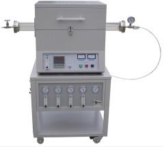 氮气管式电阻炉 气氛还原电阻炉