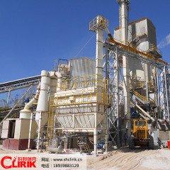 大型矿石磨粉设备  石膏微粉磨加工设备