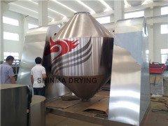 200L容积双锥回转真空喷雾干燥机--常州新马制造