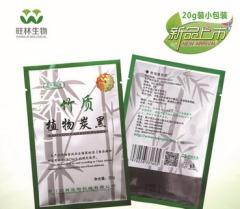 药品级竹质植物炭黑