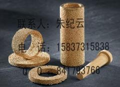 青铜粉末烧结滤网 铜砂滤芯