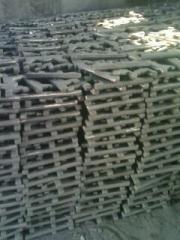 各种炉篦条,隔热件,球墨铸铁,高铬铸铁,合金钢等冶金机械铸件