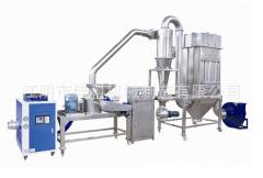 麦麸万能粉碎机 麦麸超微粉碎机 立式超细磨粉机 细度可调节的图片