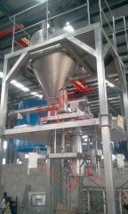 50kg及1000kg氯化钾吨袋包装机的图片