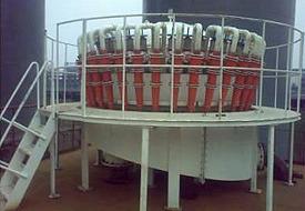 威海海王矿山机械氢氧化铝分级旋流器图片