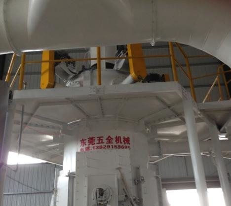 10万吨超细重钙粉生产线的图片