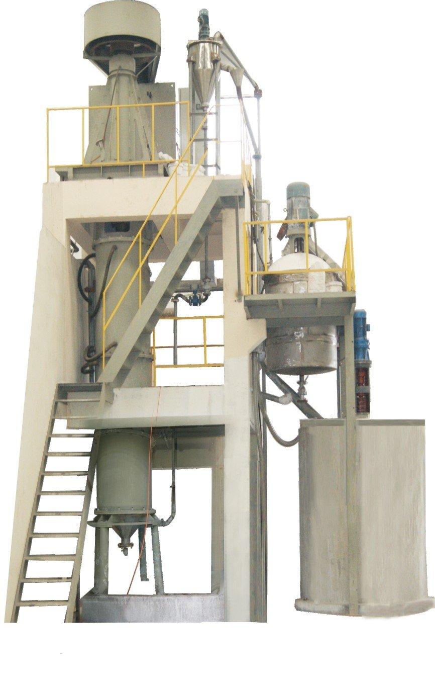 大型立式湿法搅拌研磨机的图片