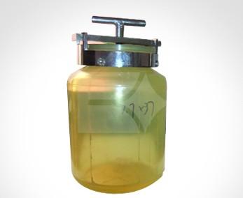 聚氨酯球磨罐 管磨机用球磨罐纯聚氨酯球磨罐图片