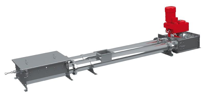 水平式管链输送机的图片