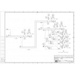 组合式管链输送系统