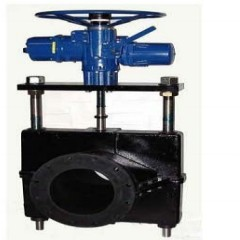 进口美国欧尼克斯管夹阀挤压阀管囊阀夹管阀的图片