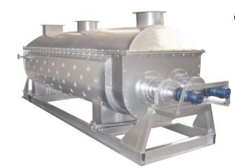 黏陶土专用空心桨叶干燥机的图片
