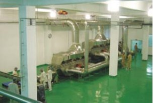 鸡精生产线-振动流化床干燥机图片