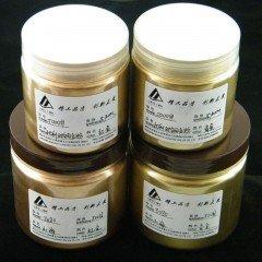 批发印刷丝印玻璃陶瓷专用铜金粉 红光金粉