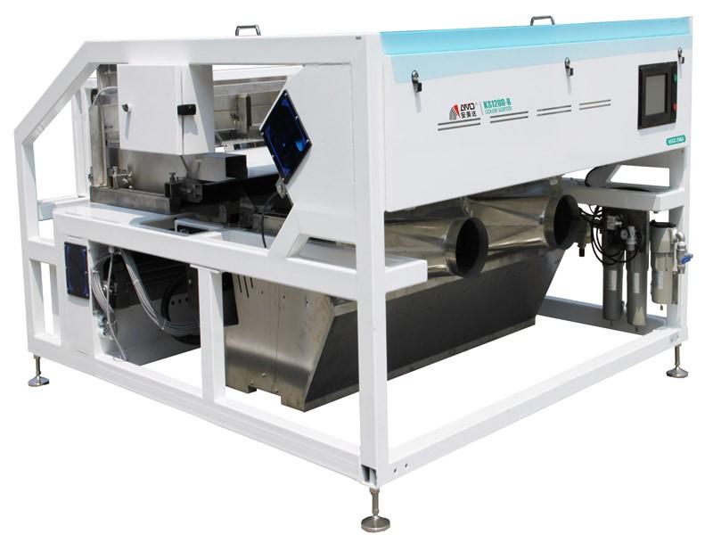 4公分-26目专用矿石色选机 履带系列KS1280-B 精度高带出比低  性能稳定且效果好的图片