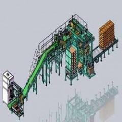 全自动包装推垛生产线包装机械设备自动化