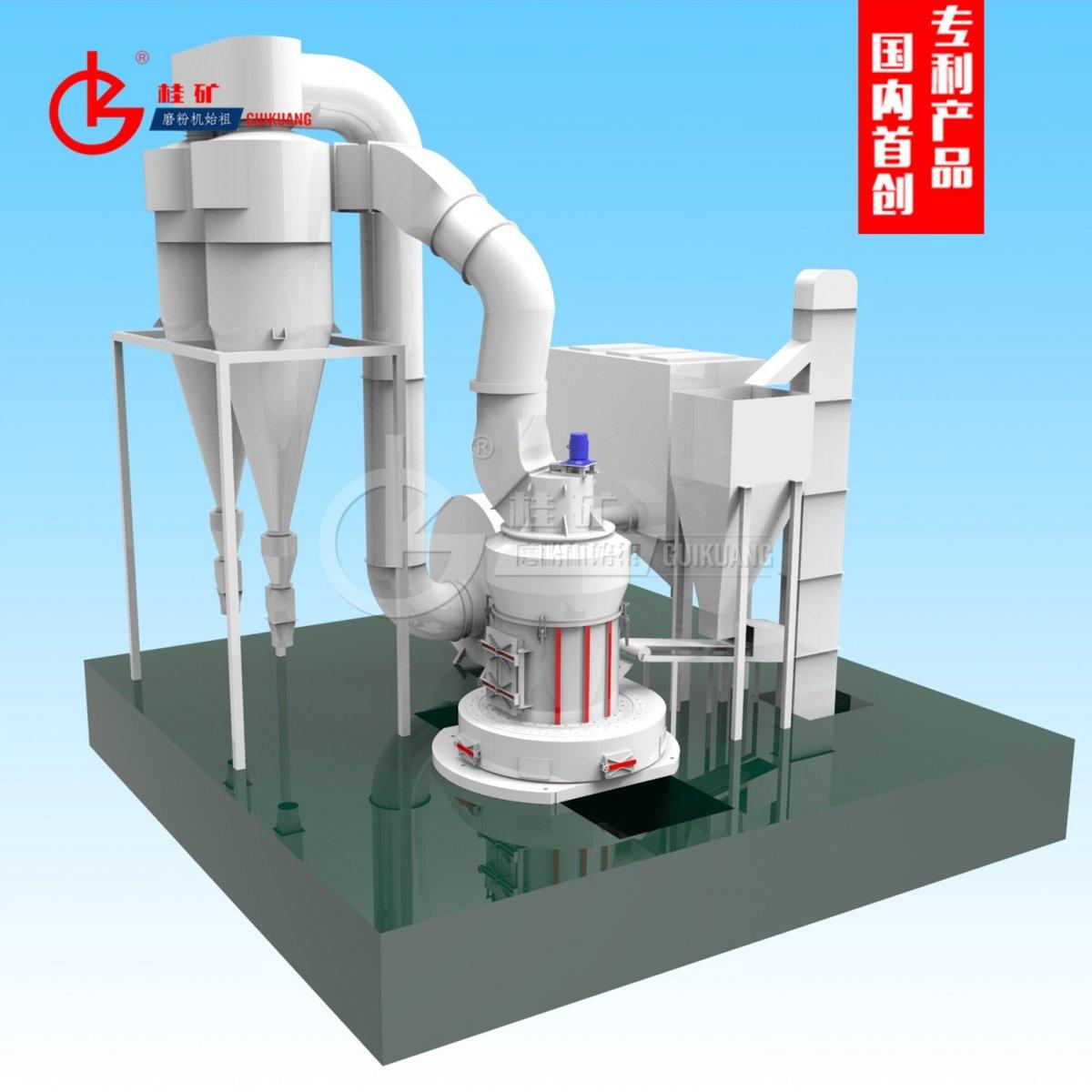 石灰石粉专用新型雷蒙磨粉机的图片