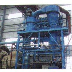 球磨机+分级机超细磨粉系统