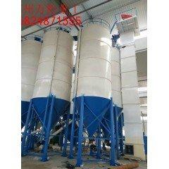 甘肃天水干粉砂浆生产线瓷砖粘合剂生产线的图片