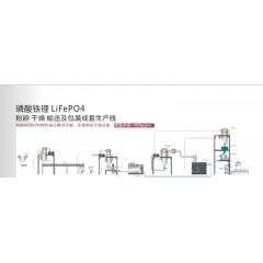 磷酸铁锂粉碎干燥输送及包装成套生产线的图片