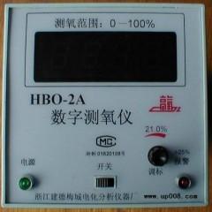 氧气分析仪 氧电极HBO-2A数字测氧仪