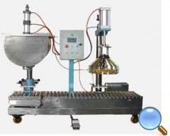 称重式半自动液体灌装机