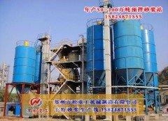 全自动保温砂浆生产线的图片