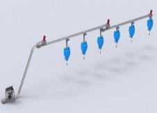 管链输送机系统