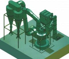 GQ2100超大型磨粉机的图片