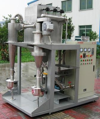 实验室专用小型气流分级机的图片