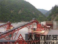 绿色环保破碎工厂 矿山成套生产线  砂石成套设备的图片