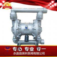 QBY铝合金气动隔膜泵的图片