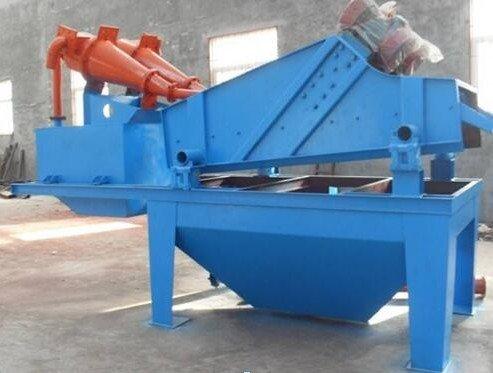 旋流器(砂泵)振动筛 生产脱水、去泥、筛分、细砂回收机的图片